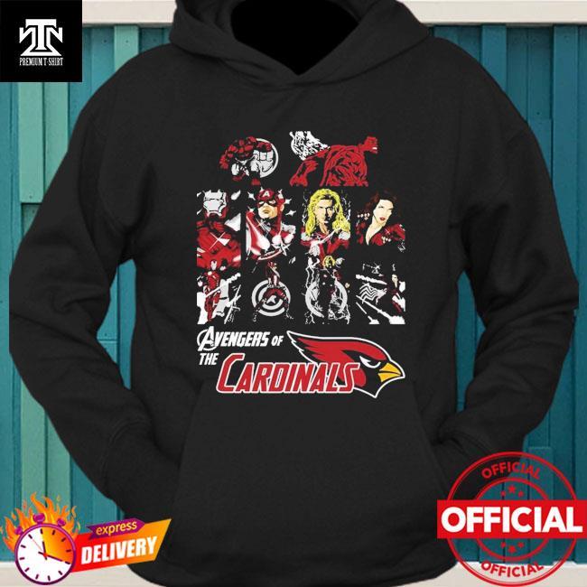 Arizona Cardinals Avengers Dc Marvel Jersey Superhero Avenger hoodie