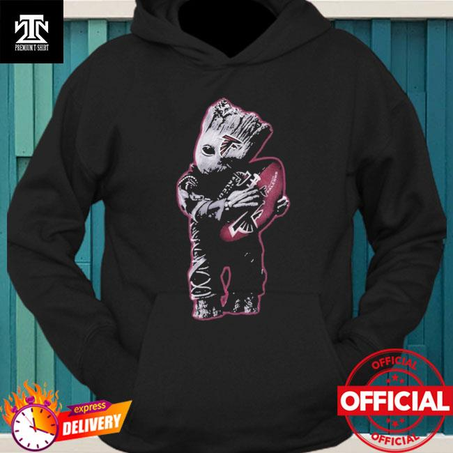 Atlanta Falcons Baby Groot Hug Atlanta Falcons Football Nfl hoodie