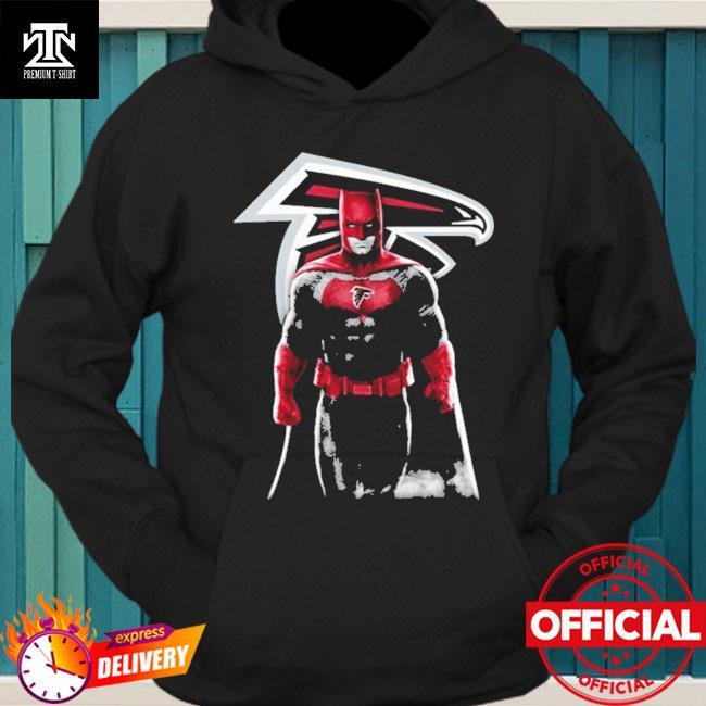 Atlanta Falcons Batman Bruce Wayne hoodie