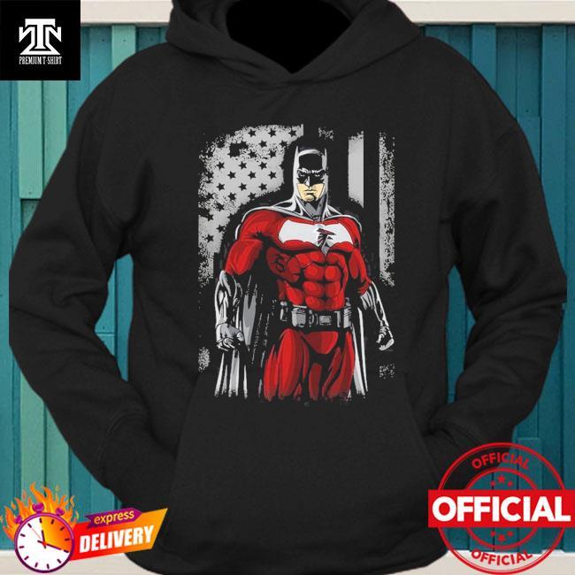 Atlanta Falcons Batman Flag Dc Marvel Jersey Superhero Avenger hoodie