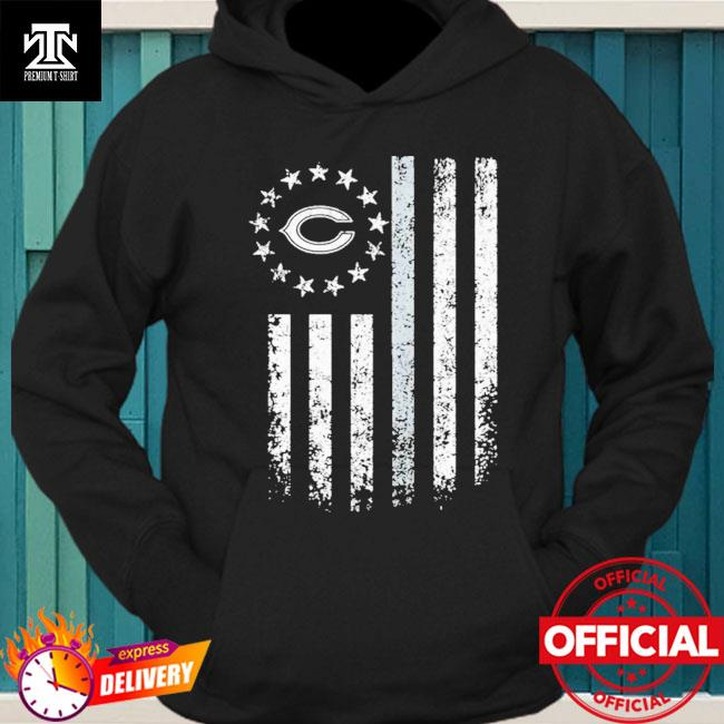 Chicago Bears American Flag Stars Shirt hoodie