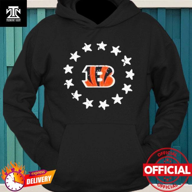 Cincinnati Bengals American Star Flag Shirt hoodie