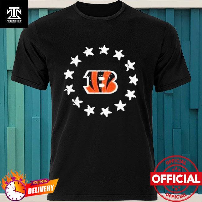 Cincinnati Bengals American Star Flag Shirt