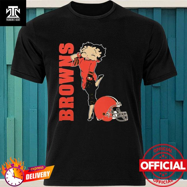 Cleveland Browns Betty Boops shirt