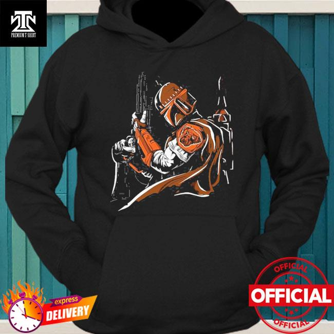 Cleveland Browns Boba Fett Star Wars hoodie