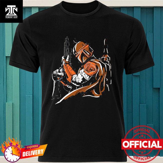 Cleveland Browns Boba Fett Star Wars shirt