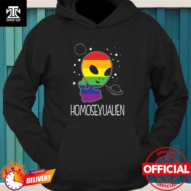 Lgbt Alien Homosexualien Shirt hoodie