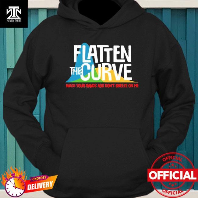 Official Flatten The Curve Public Health Virus Wash Your Hands T-Shirt hoodie