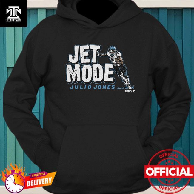 Official Julio Jones Jet Mode Football Shirt hoodie