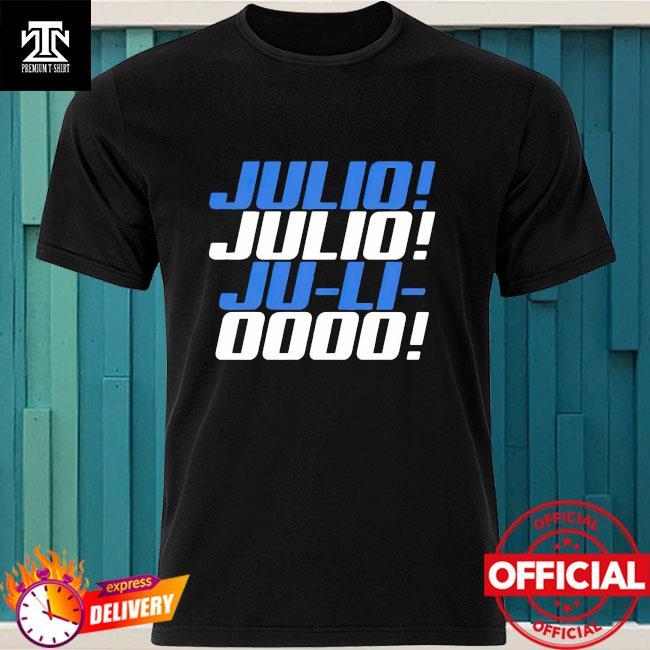 Official Julio Ju-li-ooo Julio Jones Chant shirt
