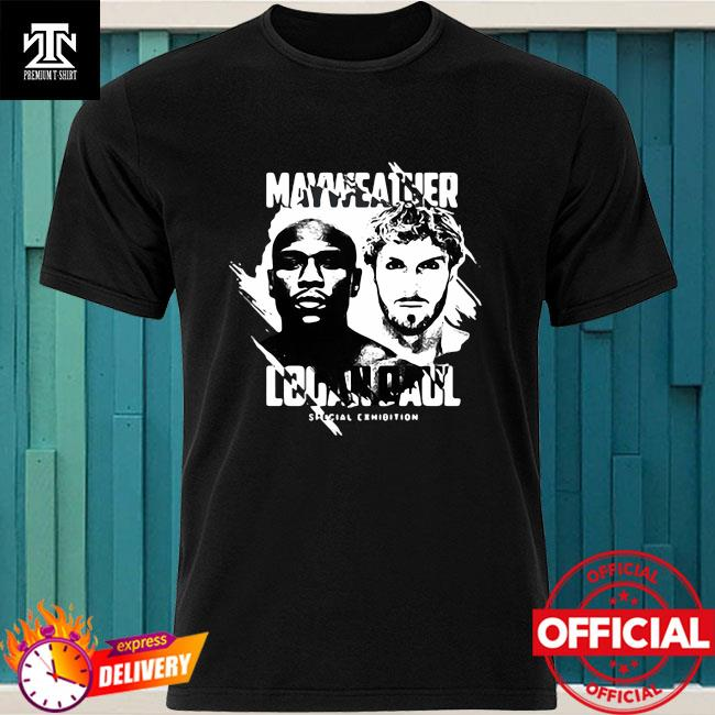 Official Mayweather Logan Paul Special Exhibition Shirt