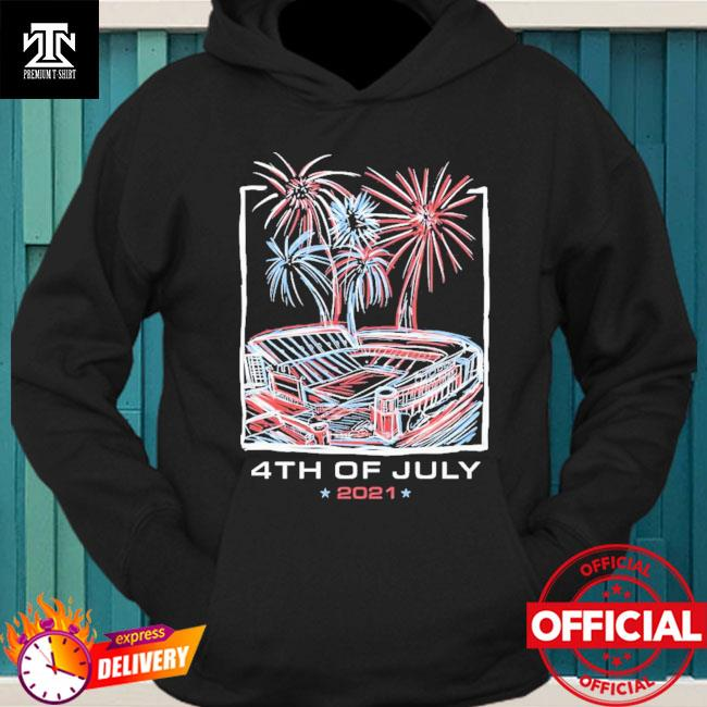 Official Texas Stadium Fireworks 4th Of July 2021 Shirt hoodie