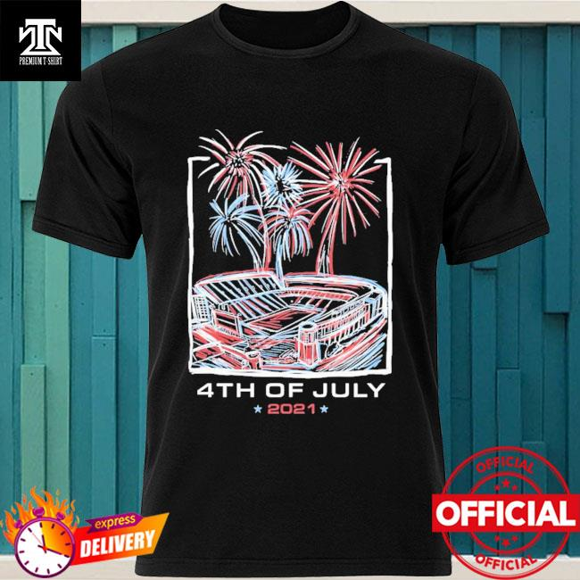 Official Texas Stadium Fireworks 4th Of July 2021 Shirt