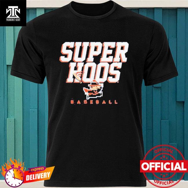 Super CavMan T-Shirt UVA Baseball Officially