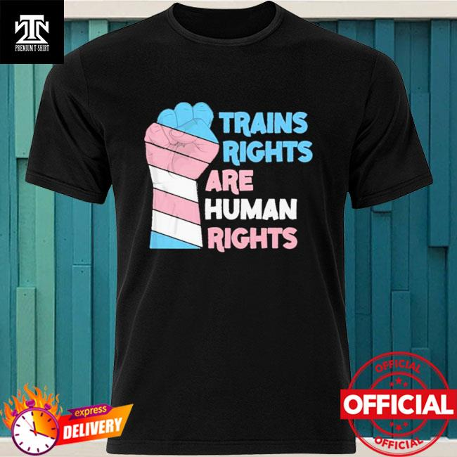 Trains Rights Are Human Rights LGBT Gay Pride Shirt