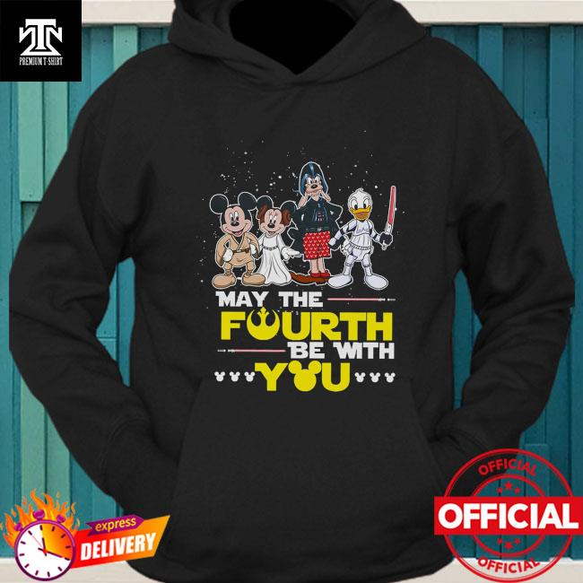 Disney Darth Vader May the Fourth be with you hoodie