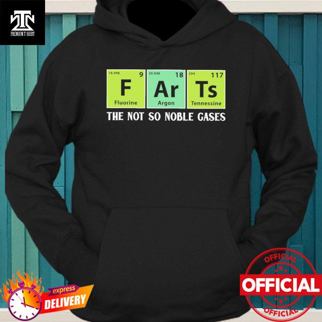Official dart the not noble gases hoodie