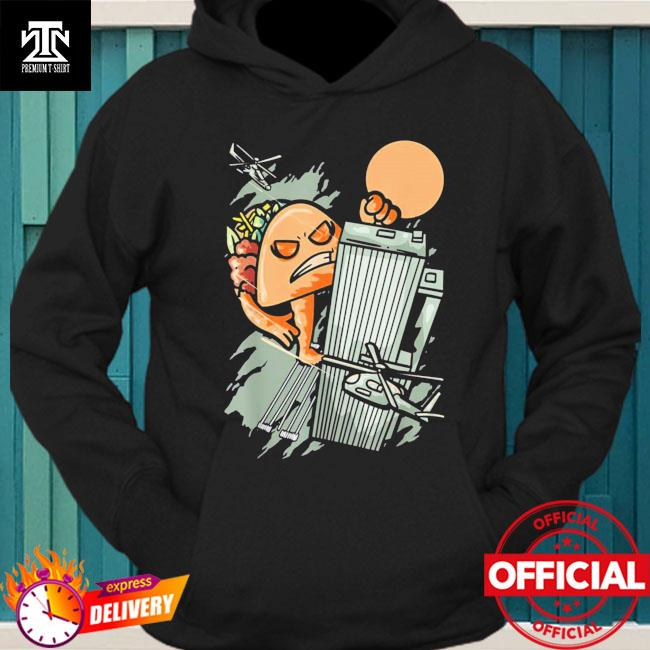 Official Taco Monster Funny Foodie Mexican Food Taco Lover Shirt hoodie