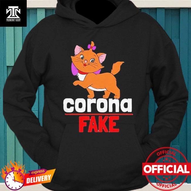 Premium Cute Cat Kitty Corona Fake Shirt hoodie