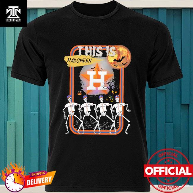 Skeleton Houston Astros this is Halloween shirt