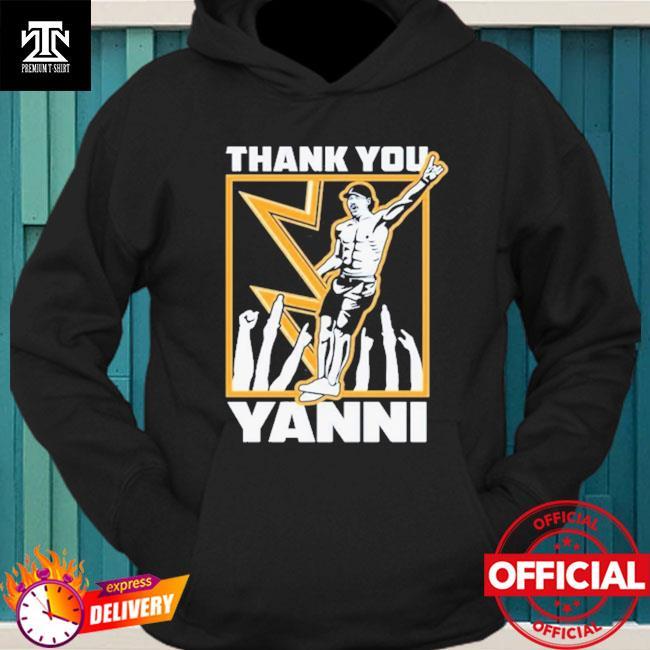 Tampa bay lightning thank you yanni hoodie