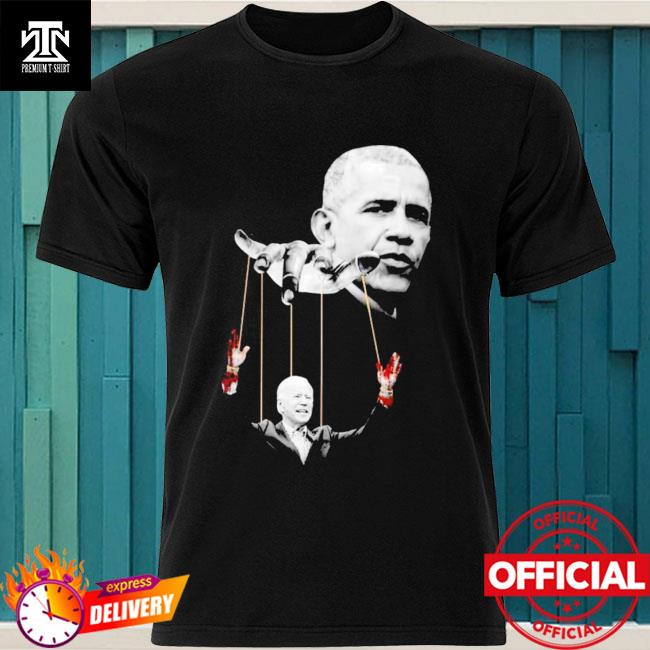 Official Obama and Biden puppet shirt